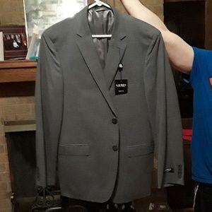 Ralph Lauren slim fit Gray Blazer size 44 regular